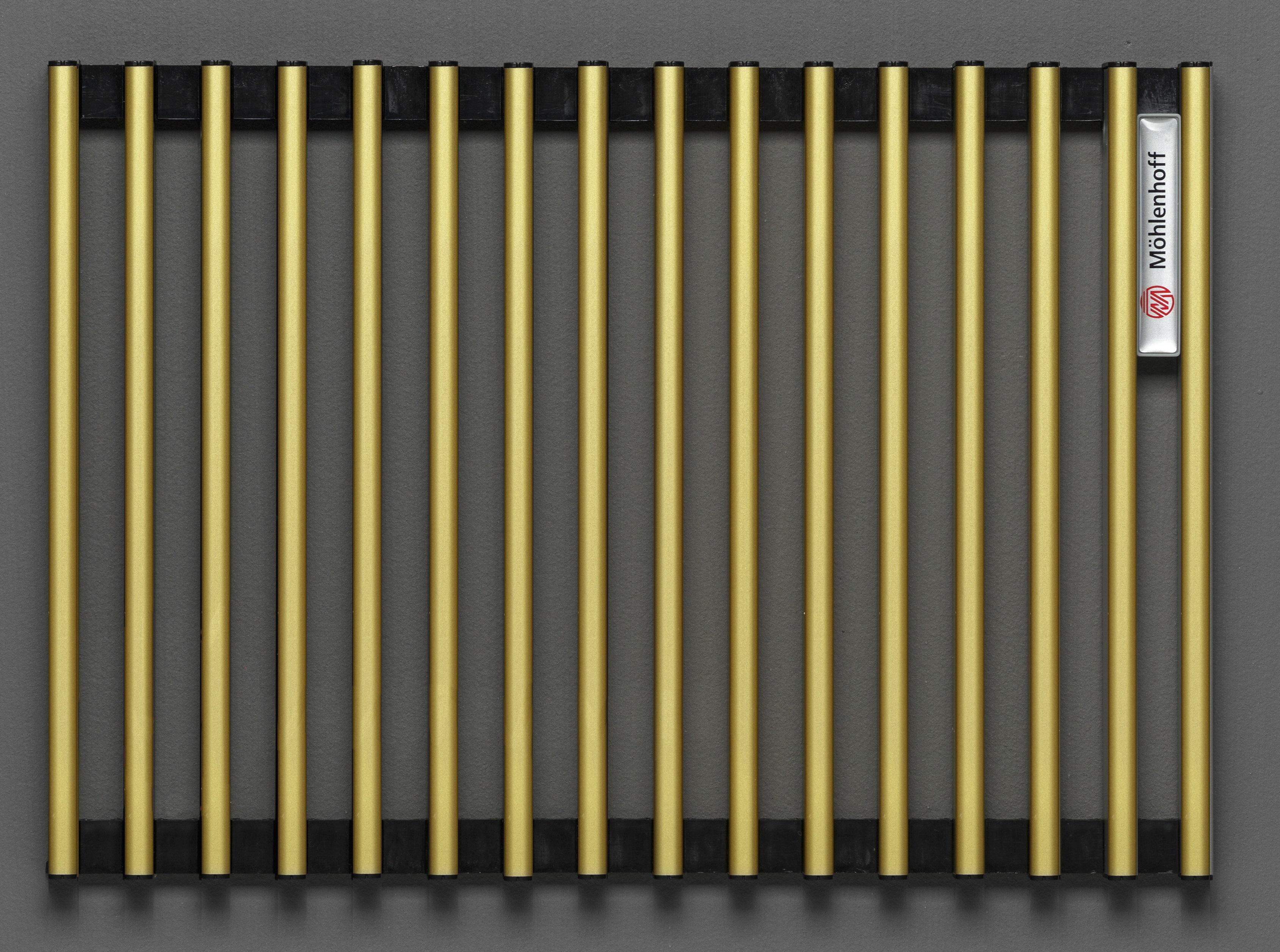 Купить Декоративная решётка Mohlenhoff латунь, шириной 410 мм 1 пог. м, Россия