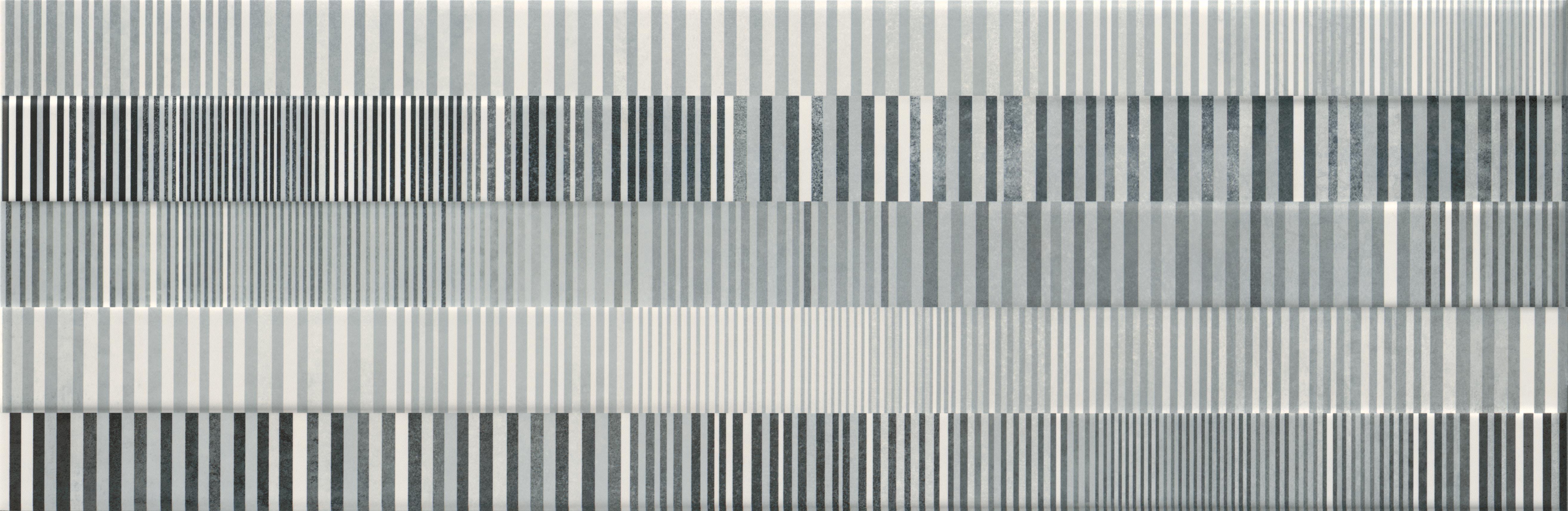 Керамическая плитка Mei Concrete Stripes многоцветный (O-CON-WID451-54) декор 29x89, Россия  - Купить