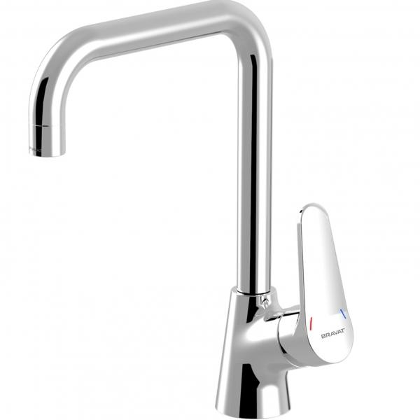 Купить Смеситель для кухни Bravat Eco F7111147C-1, Германия
