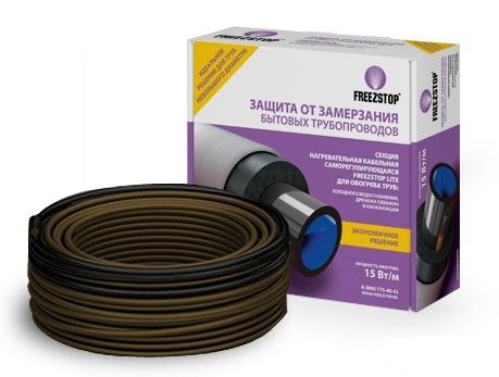 Секция нагревательная кабельная саморегулирующаяся Freezstop Lite 15-20 м