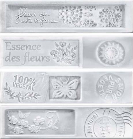 Купить Керамическая плитка Dual Gres Dolce Essence Decor White декор 7, 3x30 (mix 4 вида), Испания