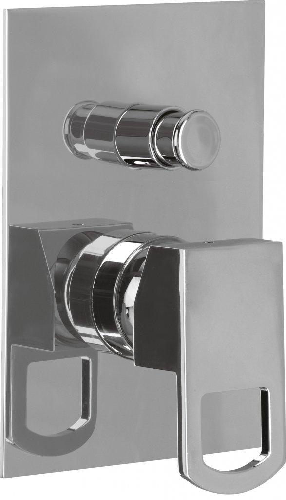 Купить Встраиваемый двухпозиционный смеситель для душа Cezares Levico хром LEVICO-VDIM-01-Cr, Италия