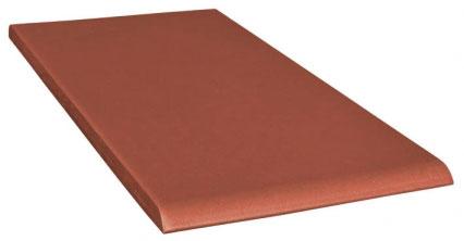 Купить Керамическая плитка Opoczno А Simple red R подоконник 30х14, 8, Польша