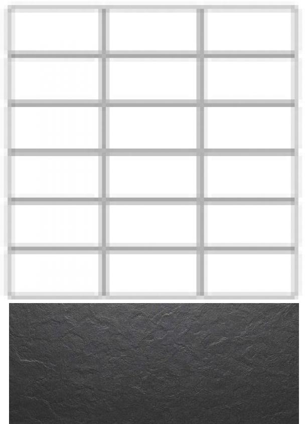 Купить Керамогранит Seranit Riverstone Mosaic Line Black (15x3, 5) мозаика 30x30, Турция