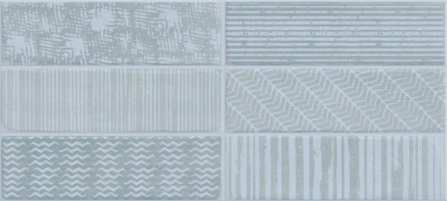 Купить Керамическая плитка Novogres Studio Azul настенная 27х60, Испания