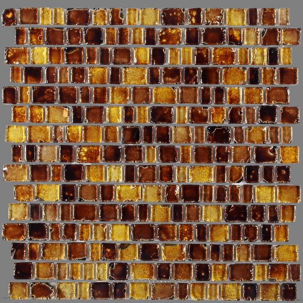 Купить Керамическая плитка JNJ Mosaic Precious Stones Amber мозаика 30, 7x31.1, Китай