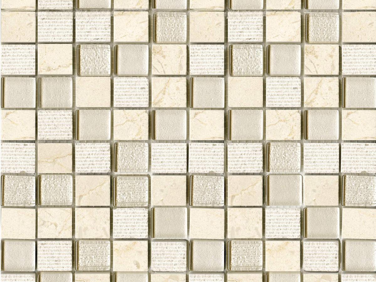 Купить Керамическая плитка Lantic Colonial Mosaico Time Texture Cream G-124 Мозаика 29, 5x28, 5, Испания