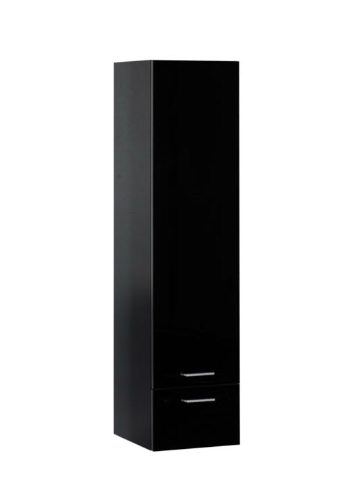 Купить Пенал Aquanet Верона 40 подвесной черный 00176673, Россия