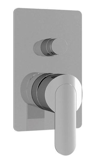 Купить Встраиваемый двухпозиционный смеситель для душа Cezares Heaven хром HEAVEN-VDIM-01-Cr, Италия