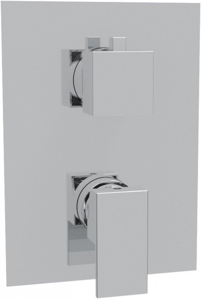 Купить Встраиваемый смеситель для душа с 5-ти позиционным переключателем Cezares Articoli Vari хром CZR-VDIM5-01-Cr, Италия