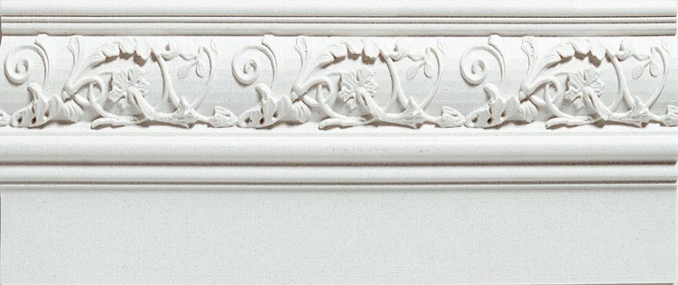 Купить Керамическая плитка Azulev Onice Zocalo Aradia Blanco плинтус 12x29, Испания
