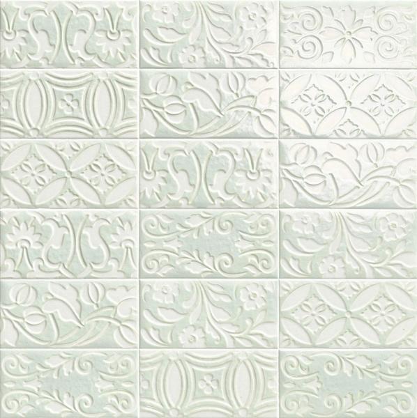 Купить Керамическая плитка Mainzu Velvet Decor Blue Настенная 10x20, Испания