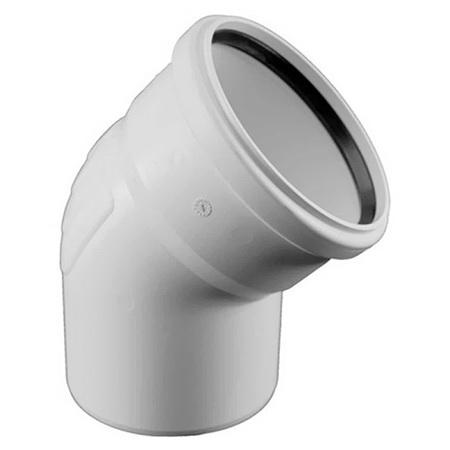 Купить Rehau Отвод для систем внутренней канализации 40 на 45*, Германия