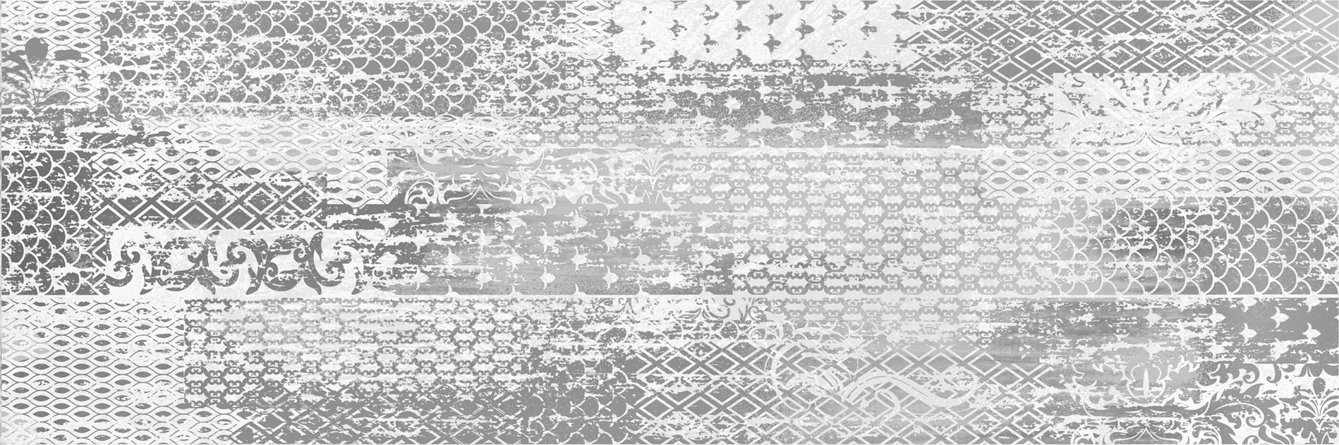 Купить Керамическая плитка AltaСera Vesta Silver декор 20x60, Россия