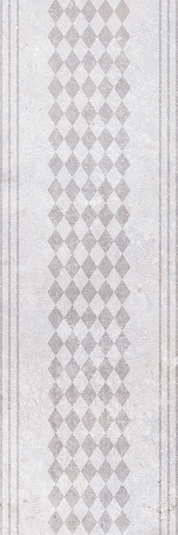 Купить Керамическая плитка Olezia grey light Плитка настенная 03 30х90, Gracia Ceramica, Россия