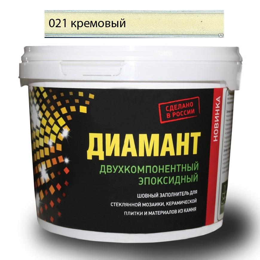 Купить Затирка Диамант эпоксидная Кремовый 021 1 кг, Россия
