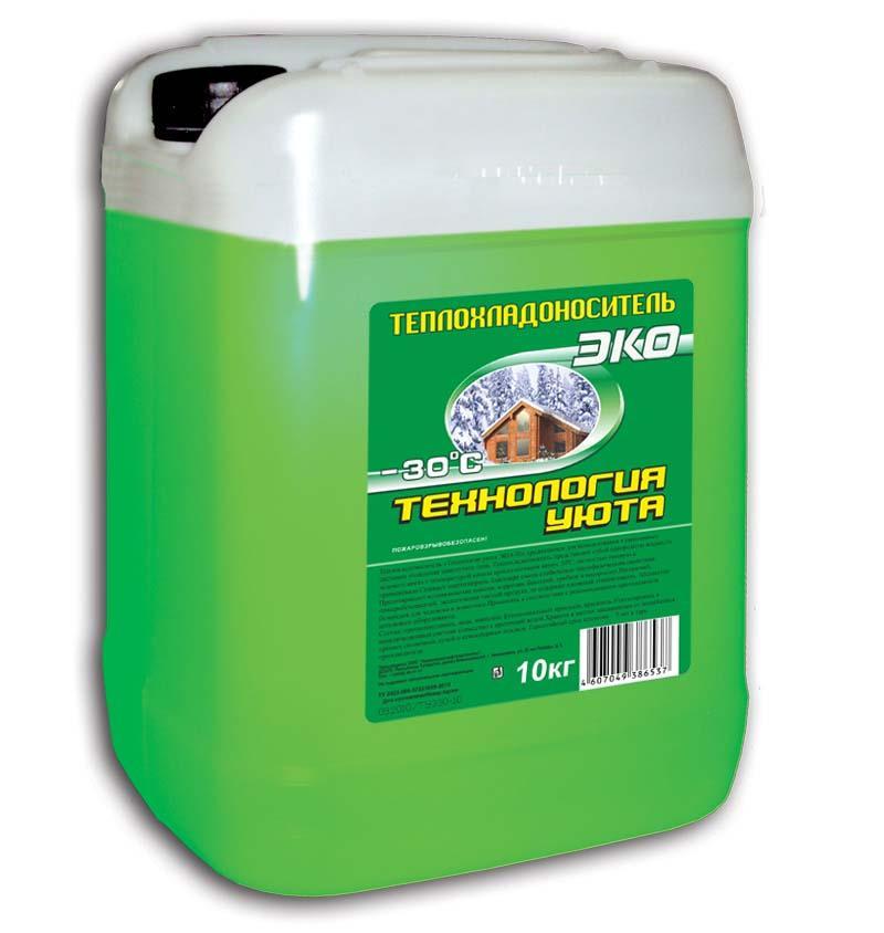 Купить Теплоноситель Технология уюта ЭКО -30, 20 кг, Thermagent, Россия