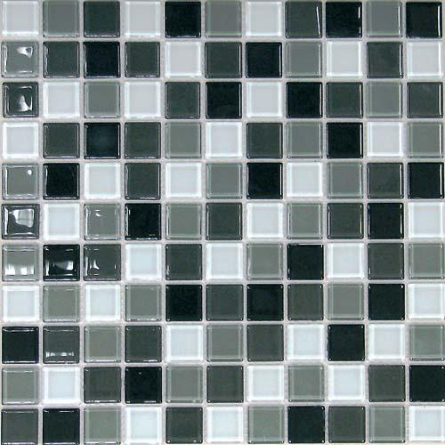 Купить Керамическая плитка China Mosaic Carbon mix (4x25x25) Мозаика 30x30, Китай