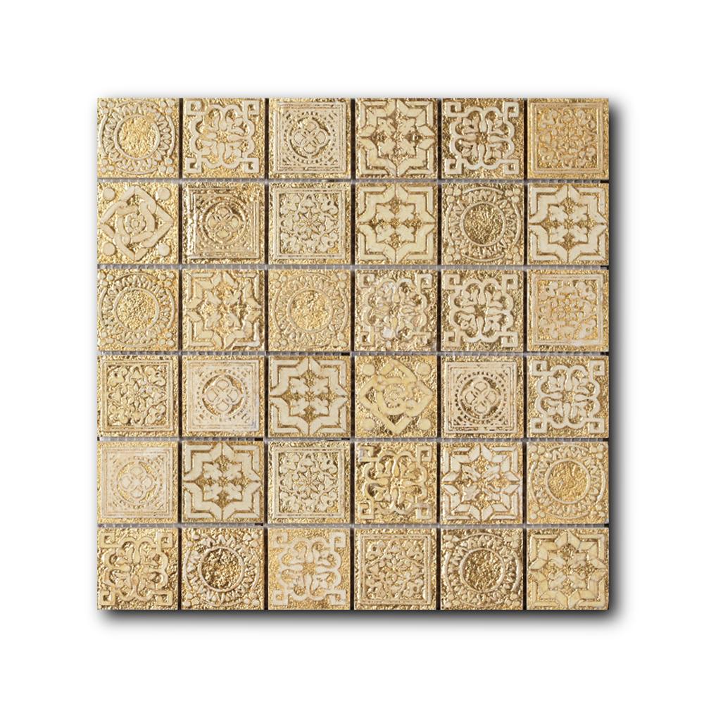 Купить Мозаика Art&Natura Equilibrio M2B Gold (4, 8х4, 8) 30х30, Италия