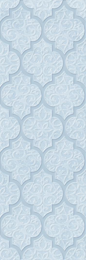 Купить Керамическая плитка Alisia blue Декор 02 30х90, Gracia Ceramica, Россия