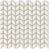 Купить Керамическая плитка Ibero Materika Mosaico Smart White мозаика 31x29, 6, Испания