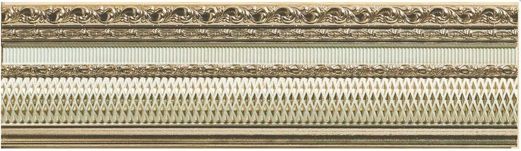 Купить Керамическая плитка Azulev Onice Listello Freya Marfil бордюр 8x29, Испания