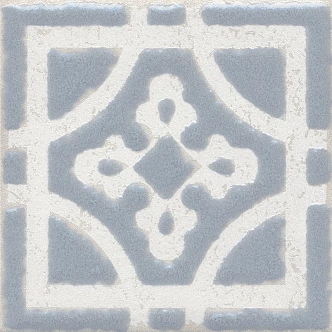 Купить Керамический гранит Kerama Marazzi Амальфи Орнамент Серый STG/C406/1270 Декор 9, 9x9, 9, Россия