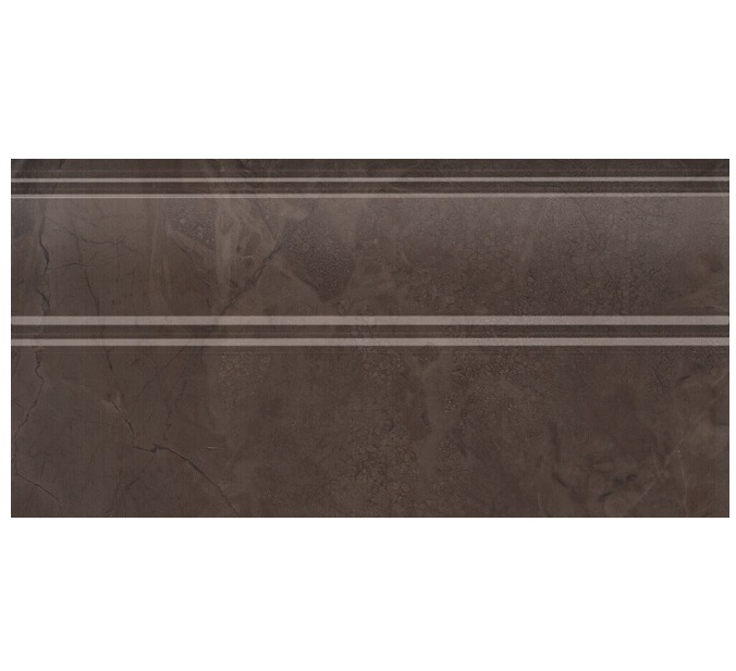 Купить Керамическая плитка Kerama Marazzi Версаль FMA017R плинтус коричневый обрезной 15x30, Россия
