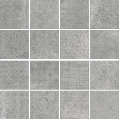 Купить Керамогранит Serenissima Riabita Il Cotto Ins Fabric Minimal декор 40x40, Италия