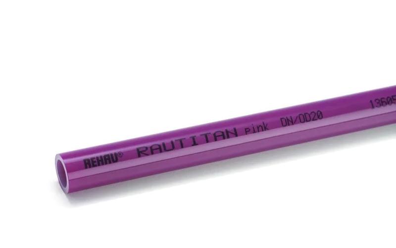 Купить Труба Rehau Rautitan pink 63х8, 7 отрезок 1м, Германия
