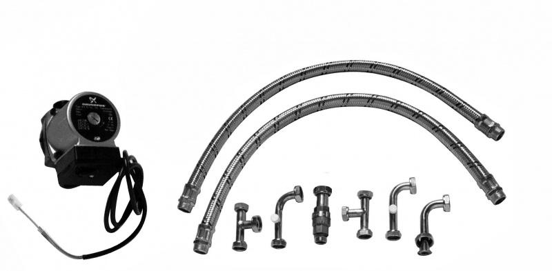 Купить BAXI KHW Гидравлический комплект для SLIM+SLIM UB (INOX) для котлов мощностью меньше 35 кВт (выход 3/4), Италия
