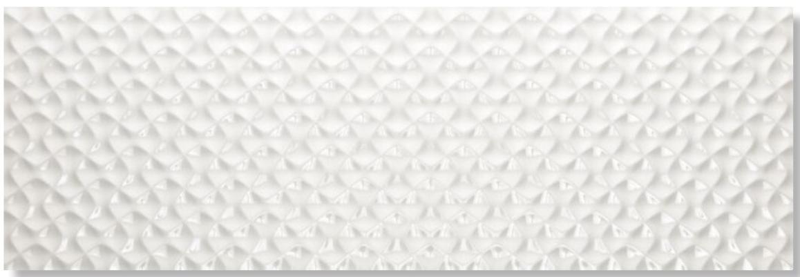 Купить Керамическая плитка Venis Artis White настенная 33, 3x100, Испания