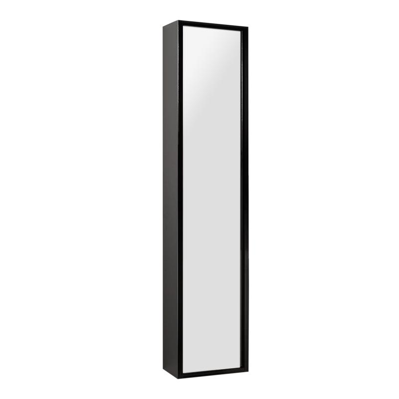 Купить Шкаф-колонна АКВАТОН РИМИНИ подвесной черный, Акватон, Россия