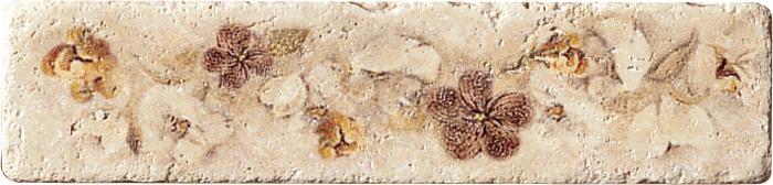 Купить Керамогранит Serenissima Marble Style Listello Travertino бордюр 5х20, Италия