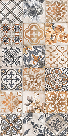 Купить Керамическая плитка Lb-Ceramics Сиена Плитка настенная декор универсальная 1041-0163 19, 8х39, 8, Россия