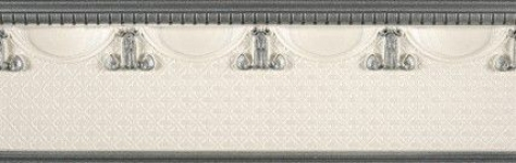 Купить Керамическая плитка Rocersa Aura Cenefa Scala Grey Бордюр 9x31, 6, Испания