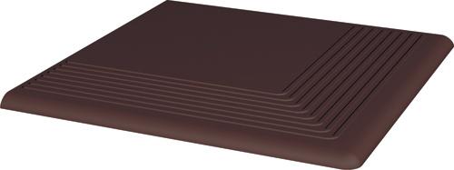 Купить Керамическая плитка Grupa Paradyz Natural Brown ступень угловая 300х300 мм/10 шт., Польша