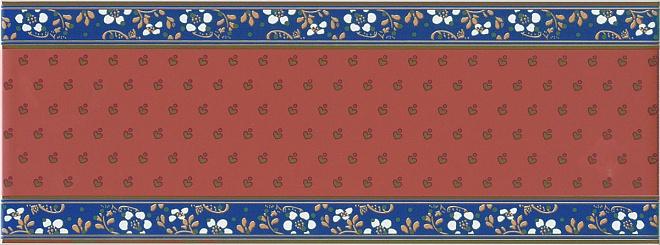 Купить Керамическая плитка Kerama Marazzi Фонтанка красный NT/A169/15000 Декор 15x40, Россия
