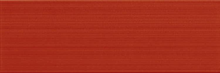 Купить Керамическая плитка Gardenia Orchidea Linear 70208 Rosso Liscio настенная 25х75, Италия