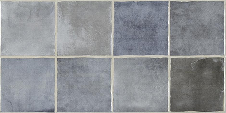 Купить Керамическая плитка STN Ceramica Laval Azul настенная 25х50, Испания
