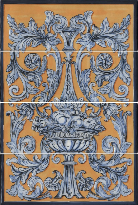 Купить Керамическая плитка Kerama Marazzi Площадь Испании HGD/B347/4x/15129 панно 60x40, Россия