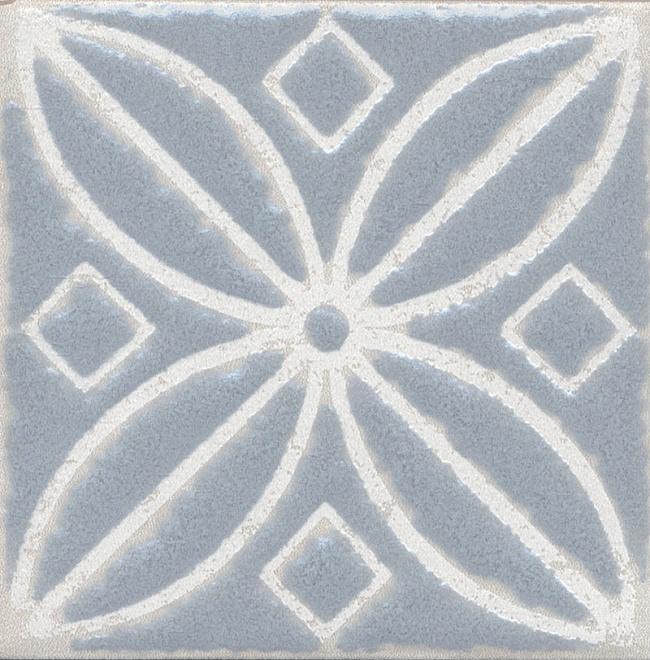 Купить Керамический гранит Kerama Marazzi Амальфи Орнамент Серый STG/C402/1270 Декор 9, 9x9, 9, Россия