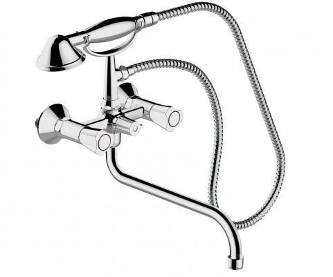 Купить Смеситель для ванны и душа Bravat Duo F6133186CP-LB-RUS, Германия