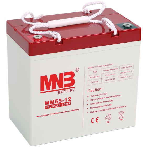 Купить Аккумуляторная батарея MNB MM 55-12, Китай