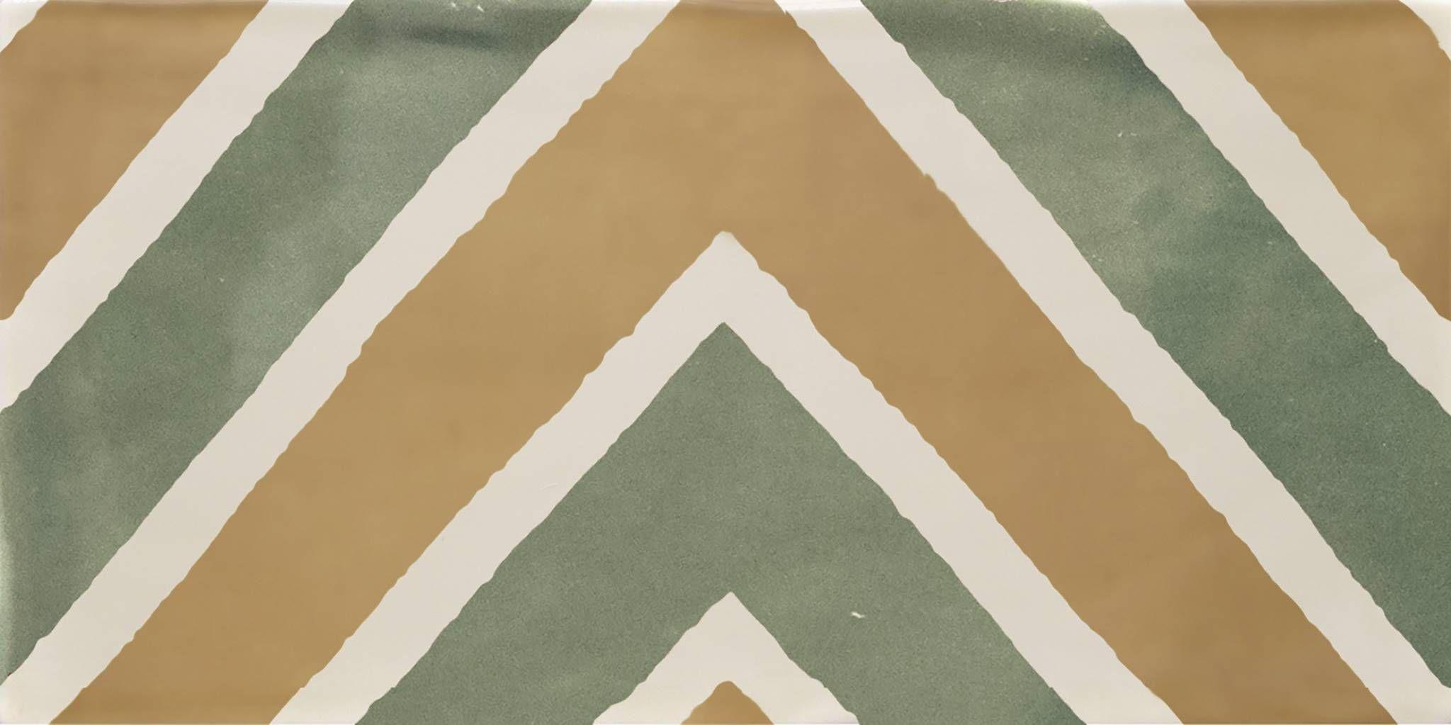 Купить Керамическая плитка Cifre Atmosphere Decor Ask Olive декор 12, 5x25, Cifre Ceramica, Испания