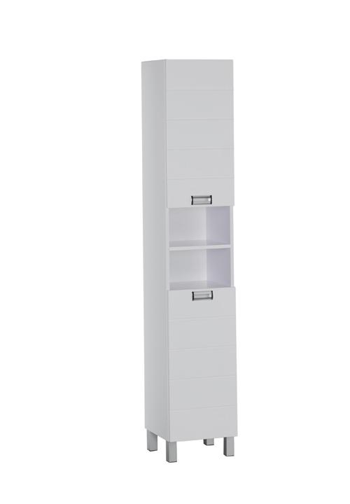Купить Пенал Aquanet Сити 35 напольный белый 00157614, Россия