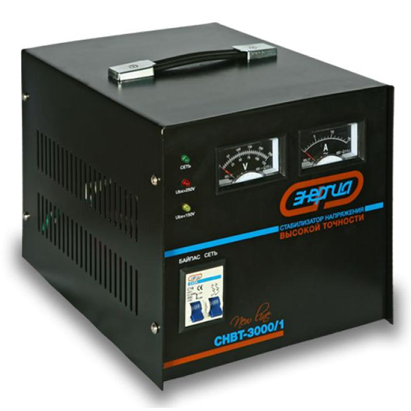 Стабилизатор напряжения Энергия CНВТ- 3000/1 Hybrid, Россия  - Купить