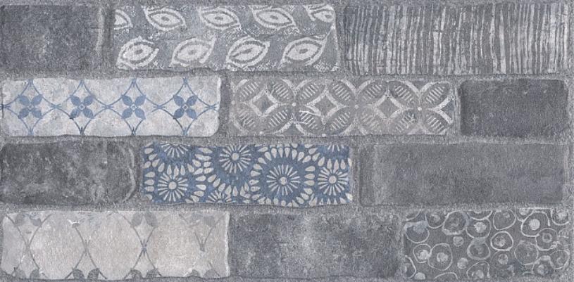 Купить Керамогранит Kerama Marazzi Кампалто SG250900R серый декорированный обрезной 30х60, Россия