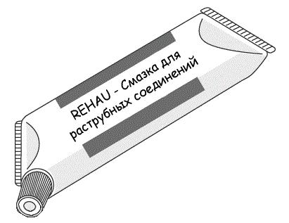 Купить Rehau Смазка для систем внутренней канализации 250 мл, Германия