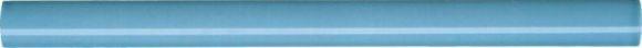 Купить Керамическая плитка Marca Corona 8347 Jolie Turquoise Matita Бордюр 1, 5x20, Италия